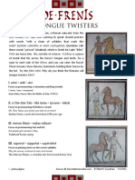 Freni - Tongue Twisters