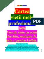 Cartea Viietii Mele Profesionale - Capitolul 1
