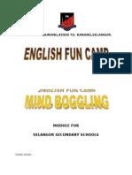 Paper Work english fun Camp