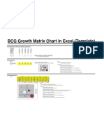 Boston Consulting Group (BCG) Growth Share Matrix Template) www.gazhoo.com