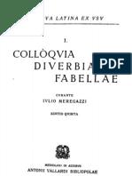 Meregazzi - Colloquia Diverbia Fabellae