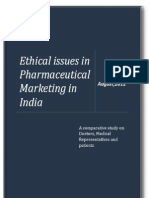Ethical Issues in Pharmaceutical Market In India