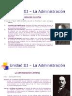 Unidad 1- Teorias Administrativas
