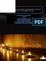 Iluminacion, Antropometria y Ergonomia