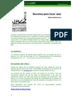 Secretos Para Tocar Jazz