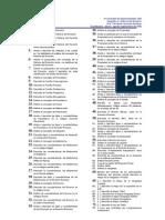Reactivos Para Examen Final 2009a