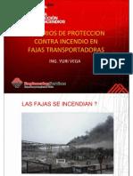 Criterios de Proteccion Contraincendios en Fajas Transportadoras