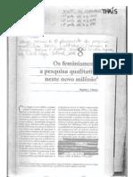 Microsoft Word - Os feminismos e a pesquisa qualitativa neste novo milênio