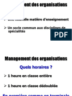 Anim Management Des Organisations