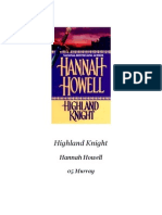 Howell Hannah - Caballero de Las Highlands (Murray 05)