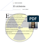 Guía ciclotrón