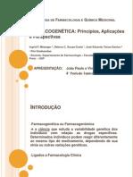 Seminário de farmacogenética - Liga de Farmacologia e Química Medicinal