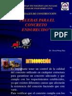 Pruebas Del Concreto Endurecido, Resistencia de Materiales, Mecanica, Ingenieria