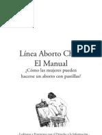 Linea Aborto Chile, el manual, como las mujeres pueden hacerse un aborto con pastillas.pdf