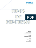 Tipos de Hipótesis - Final