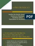 04 - Investigación en psicoterapia