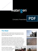 Water-Gen Presentation CIV June 2013