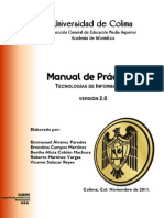 Tecnologías de Información II - Manual de Prácticas v2 (2012)