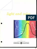 GE Light & Color Brochure 1978