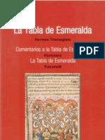La Tabla de Esmeralda (Hortulano,Fulcanelli) - Hermes Trismegistos