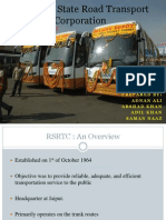 Presentation Case study Rajsthan roadways
