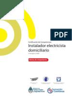 Instalador electricista domiciliario