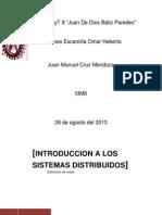 Tarea Redes Sistemas Distribuidos