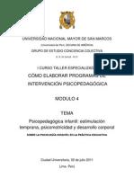 MODULO 4 - SOBRE LA PSICOLOGÍA INFANTIL EN LA PRACTICA EDUCATIVA