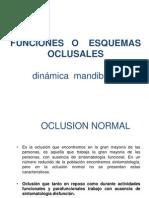 Funciones o Esquemas Oclusales (1)