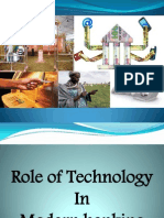 Role of Modern Technology in Banking Industry