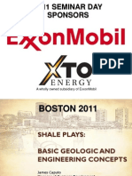 Shale terminology & engineering concept