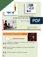 II CLASE Investigacion de Mercados - Proceso