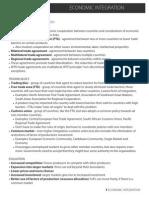 IB Economics SL15 - Economic Integration