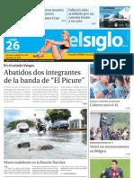Edicion Eje Centro Lunes 26-08-2013