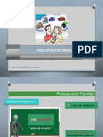 Presupuesto Familiar, 2013