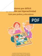 Guia Para Padres y Educadores TDAH