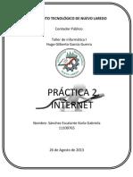 Reporte Evaluacion Practica 2 Internet}