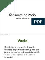 Sensores Vacio