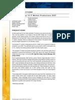 IDC's India Top10 IT Market Predictions 2007