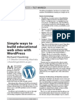 Simple Ways to Build Educational Web Sites With WordPress