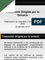 Traduccion Dirigida por la Sintaxis