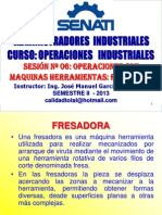 2013 - II - Opeind Sesion 06 - Fresado