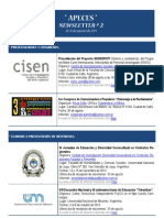 Apeces - Newsletter N 2. 26-31.8.2013