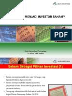 Bagaimana Menjadi Investor