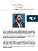 Press Release on a Big Question Mark on Islamic Finance Industry