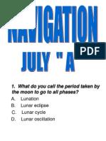 NAVIGATION QUESTIONS