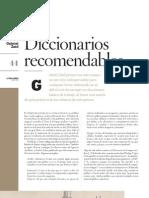 Diccionarios recomendables