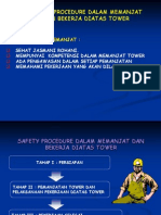 2. Safety Procedure Dalam Memanjat Tower