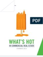 Whats Hot in Commercial Real Estate in 2013