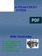 Boiler specification with mountings